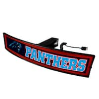 Fanmats NFL Carolina Panthers Acrylic Light-up Hitch Cover