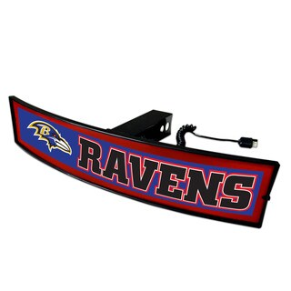 Fanmats NFL Baltimore Ravens Light Up Hitch Cover