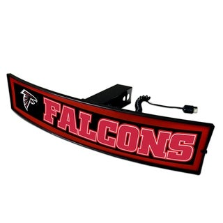 Fanmats NFL Atlanta Falcons Red Acrylic Light-up Hitch Cover