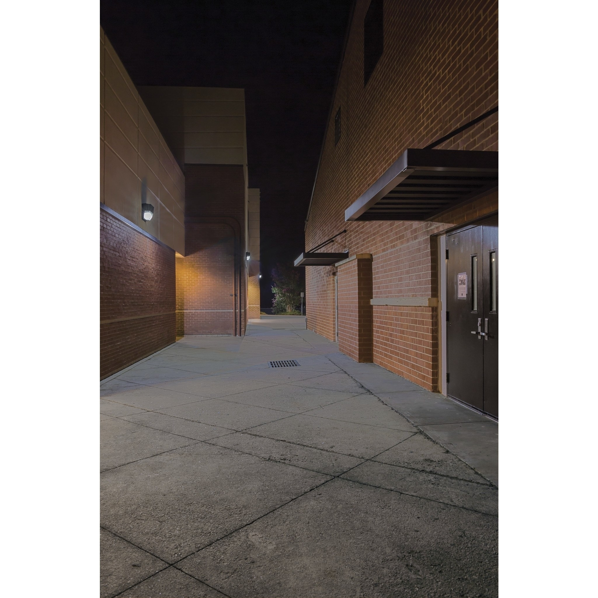 Lithonia Lighting Bronze Dusk to Dawn Integrated Outdoor ...