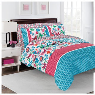 Flirty Floral Comforter Set (2 options available)