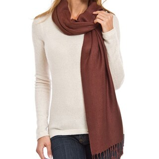 Vecceli Italy Silky Blend Plain Pashmina Scarf (More options available)