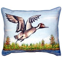 Pintail Duck Extra Large Zippered Throw Pillow