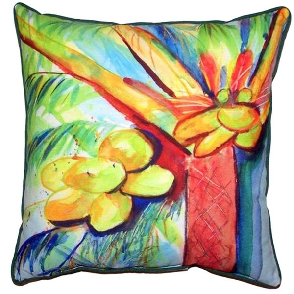 Shop Cocoa Nut Tree Large Indoor Outdoor Throw Pillow Free