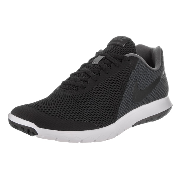 Nike Men's Flex Experience RN 6 Black Mesh Running Shoe