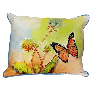 Betsy's Butterfly Large Indoor/ Outdoor Throw Pillow