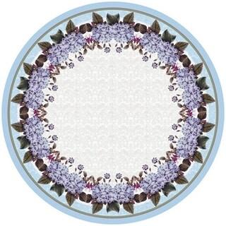 Betsy Drake Hydrangea 58-inch Round Tablecloth