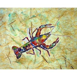 Betsy Drake Crayfish Place Mats (Pack of 4)