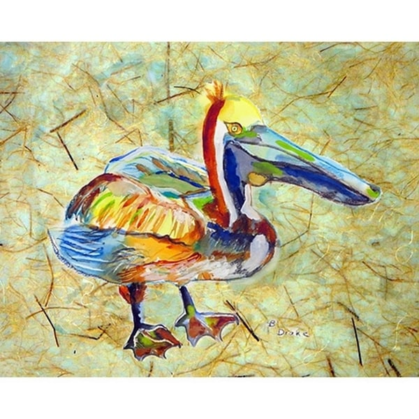 Betsy Drake Heathcliff Pelican Place Mats (Pack of 4)