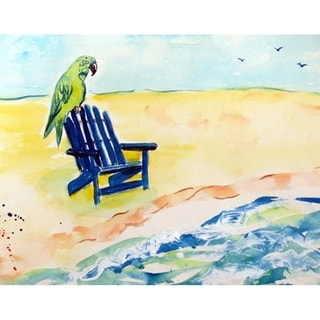Parrot and Chair Place Mat Set of 4