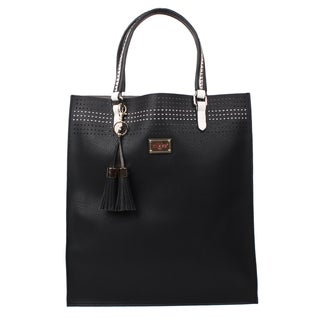Nikky Starr Black Tote Bag