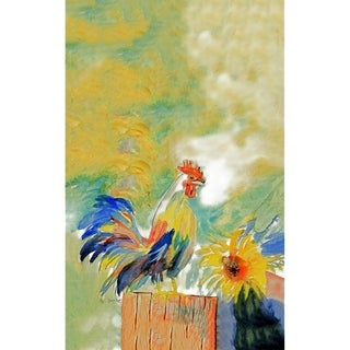 Betsy's Rooster Microfiber Kitchen Towel