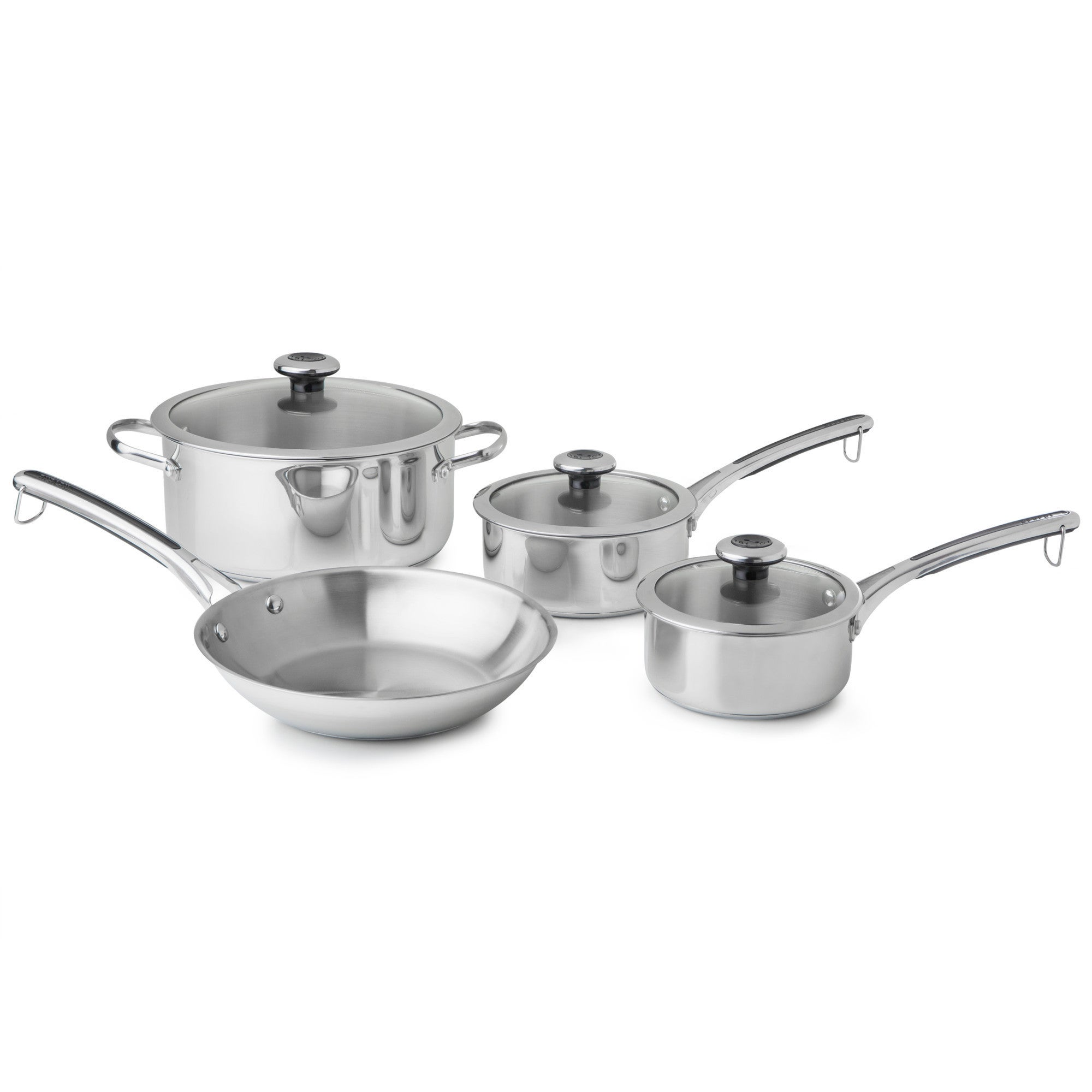 Plymouth Copper Confidence Core 7-pc Stainless Steel Cook...