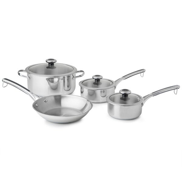 Revere Copper Confidence Core 7-pc Stainless Steel Cookware Set