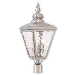 Livex Lighting Cambridge 3-light Outdoor Lantern
