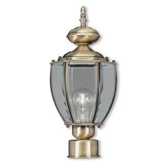 Livex Lighting Outdoor Basics 1-light Outdoor Lantern