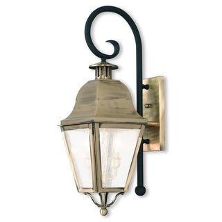 Livex Lighting Amwell 2-light Outdoor Lantern
