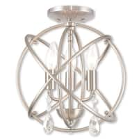 Livex Lighting Aria Steel 3-light Chandelier