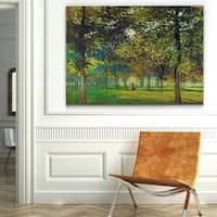 Wexford Home 'The Alley of Champ de Foire' Wrapped Canvas Art