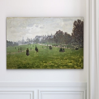 Wexford Home 'Green Park in London' Wrapped Canvas Art