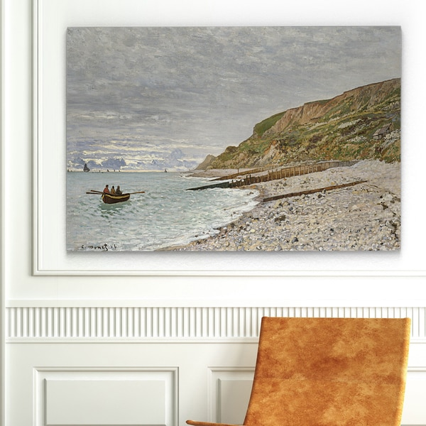 Wexford Home 'La Pointe Sainte-Adresse' Canvas Wall Art