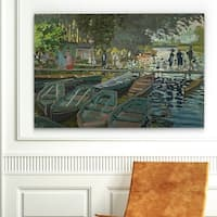 Wexford Home 'Bathers at la Grenouillere' Wrapped Canvas Art