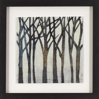 Birch Line in Black and Gold Woodgrain Finish Frame