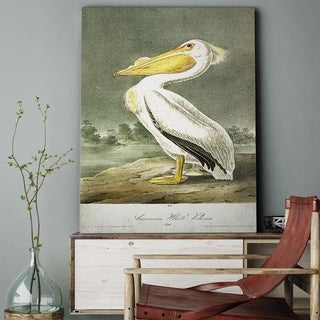 Wexford Home 'American White Pelican' Gallery-wrapped Canvas Wall Art