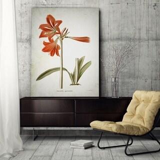 Wexford Home 'Botanical Plate III' Canvas Art Print