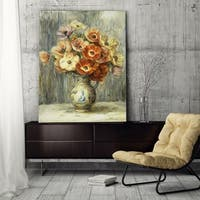 Wexford Home 'Renoir, Anemones' Gallery-wrapped Canvas Wall Art
