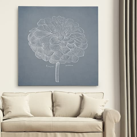 Wexford Home 'Dusty Floral Sketch I' Wall Art