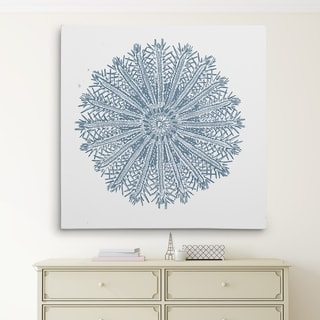 Wexford Home 'Coral Sketch Blue IV' Wall Art