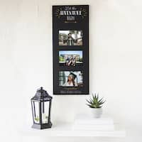 Graduation Black Multi-photo Frame