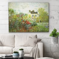 Wexford Home 'The Artist Garden' Gallery Wrapped Canvas Wall Art