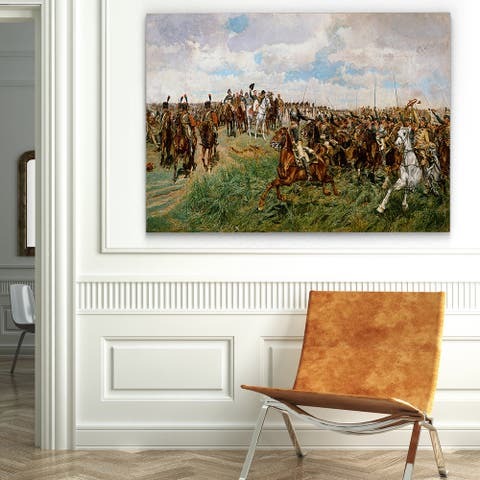 'Battle of Friedland' Gallery-wrapped Canvas Art