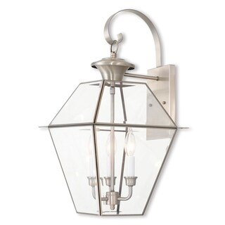 Livex Lighting Westover, 3 Lights, Outdoor Lantern