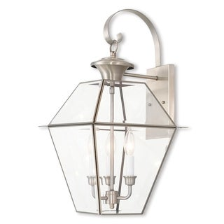 Livex Lighting Westover, 3 Lights, Outdoor Lantern