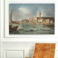 "Claude Monet's ""The Doge's Palace"" Gallery-Wrapped Canvas Wall Art"