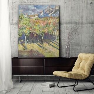 Claude Monet 'Les Tilleuls' Gallery-wrapped Canvas Art