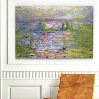 'Charing Cross Bridge' Gallery-wrapped Canvas Art