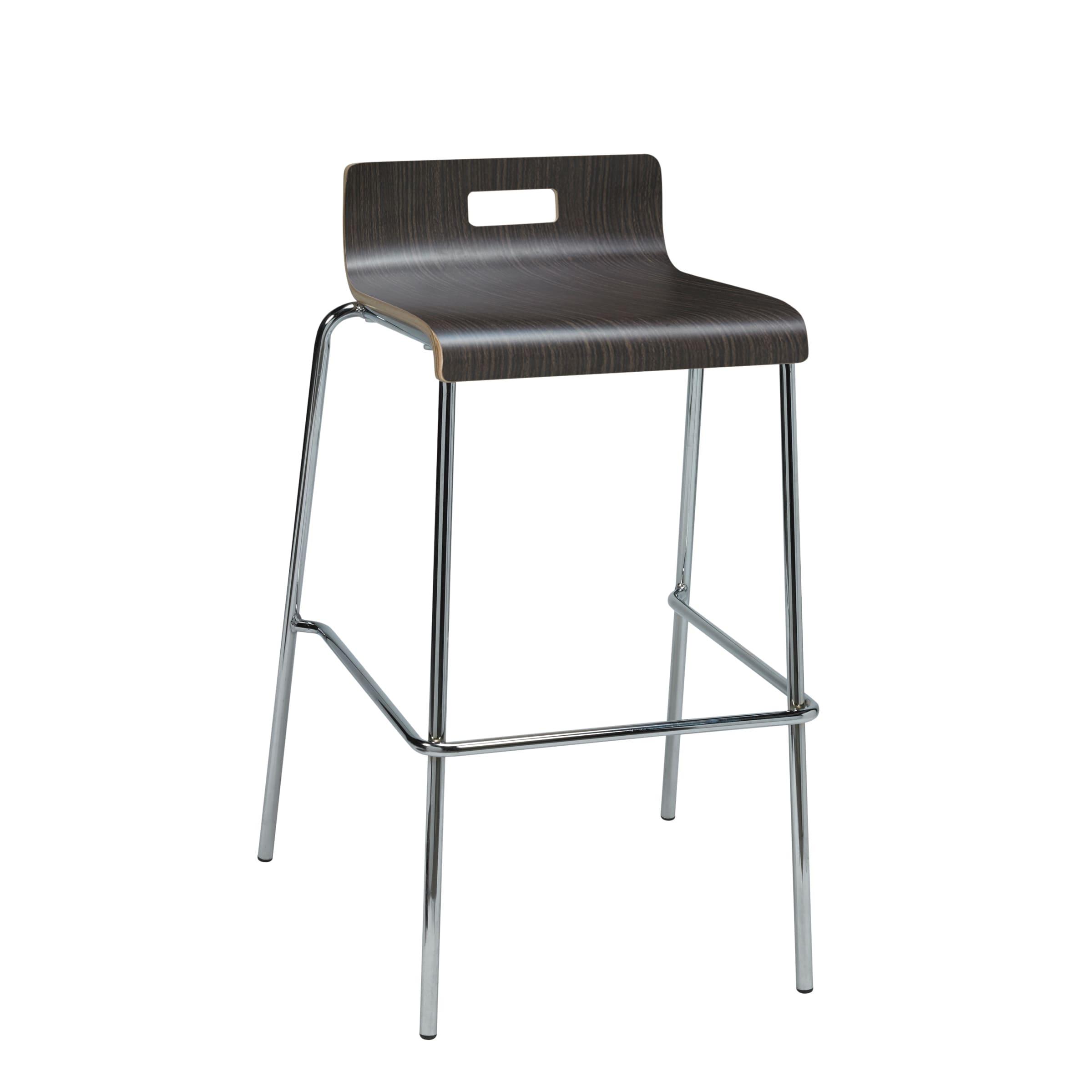 KFI seating Jive Espresso Low-back Barstool (Espresso), B...
