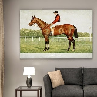 Wexford Home 'Equine Drawing III' Gallery-wrapped Canvas Wall Art