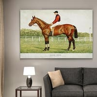 Wexford Home 'Equine Horse Drawing III' Gallery-wrapped Canvas Wall Art