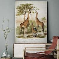 Wexford Home 'Giraffe Sketch XXVI' Gallery-wrapped Canvas Art
