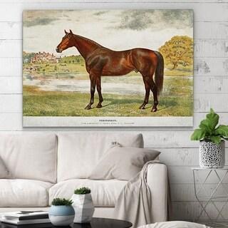 Wexford Home 'Equine Sketch XXVII' Canvas Wall Art