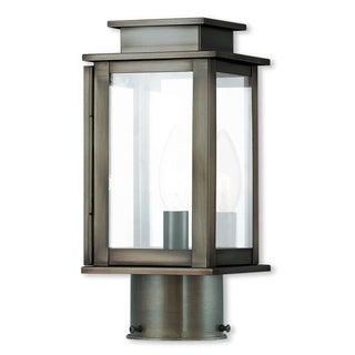 Livex Lighting Princeton, 1 Light, VPW Outdoor Post Lantern