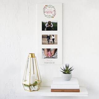Mother's Day White Wood Multi-photo Frame
