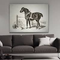 Wexford Home 'Equine Sketch VI' Wall Art