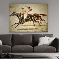 Wexford Home 'Equine Sketch V' Canvas Wall Art