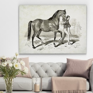 Wexford Home 'Equine Plate XXI' Canvas Art Print
